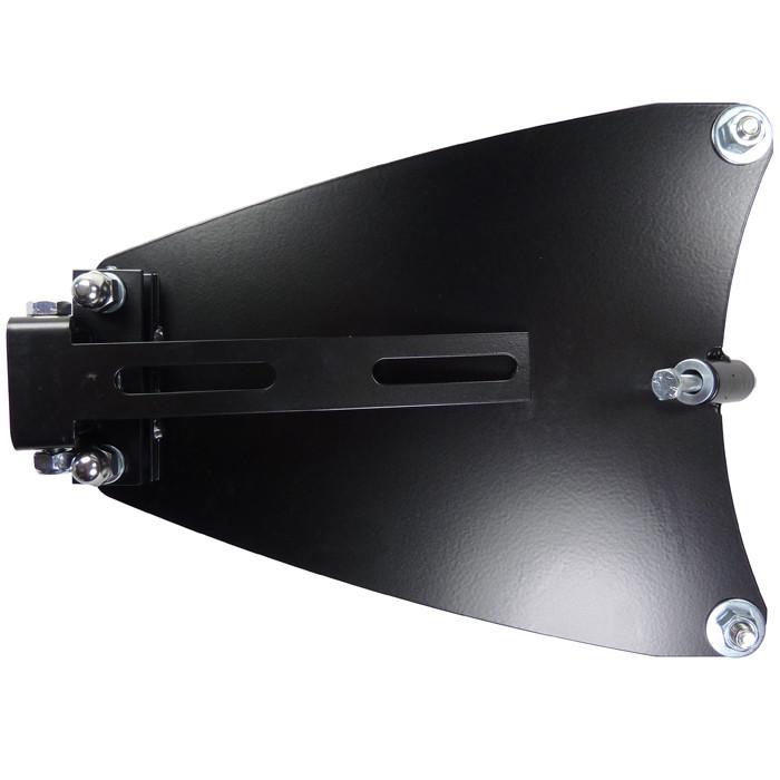 Schwarzes Solositz Montage Kit für HD Sportster von 86 bis 03