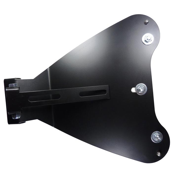 Schwarzes Solositz Montage Kit für HD Sportster von 10 bis 16