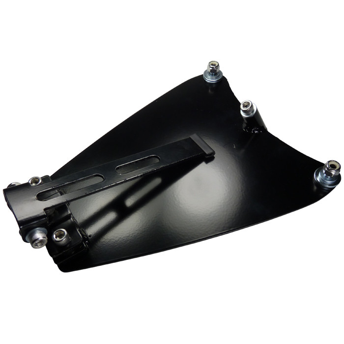 Black Solo Seat Kit for Harley Sportster