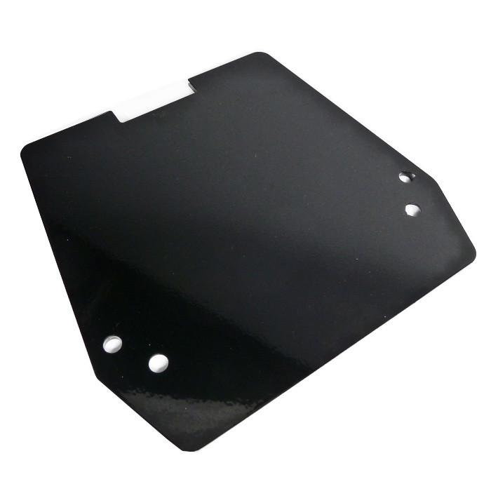 Schwarze Solositz Halteplatte für HD Dyna ab 1999