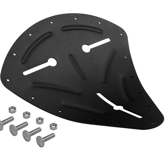 Solositz Sitzpfanne schwarz Moto incl. Polster