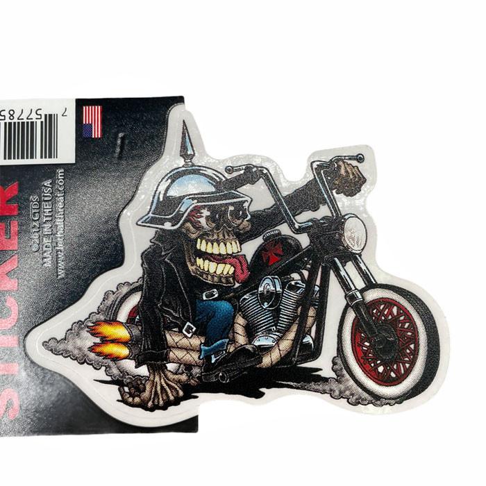 Aufkleber Monster Biker