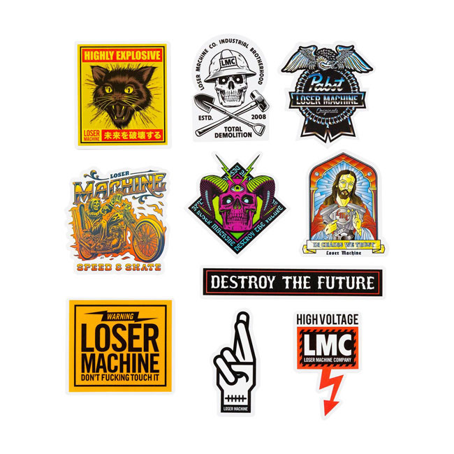 Looser Machine Sticker Set