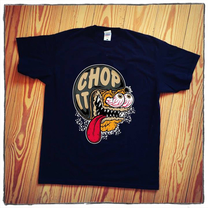 T-Shirt helmet Monster Chop it XL