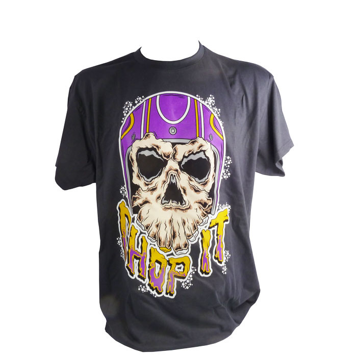 T-Shirt Chop it helmet Monster Skull