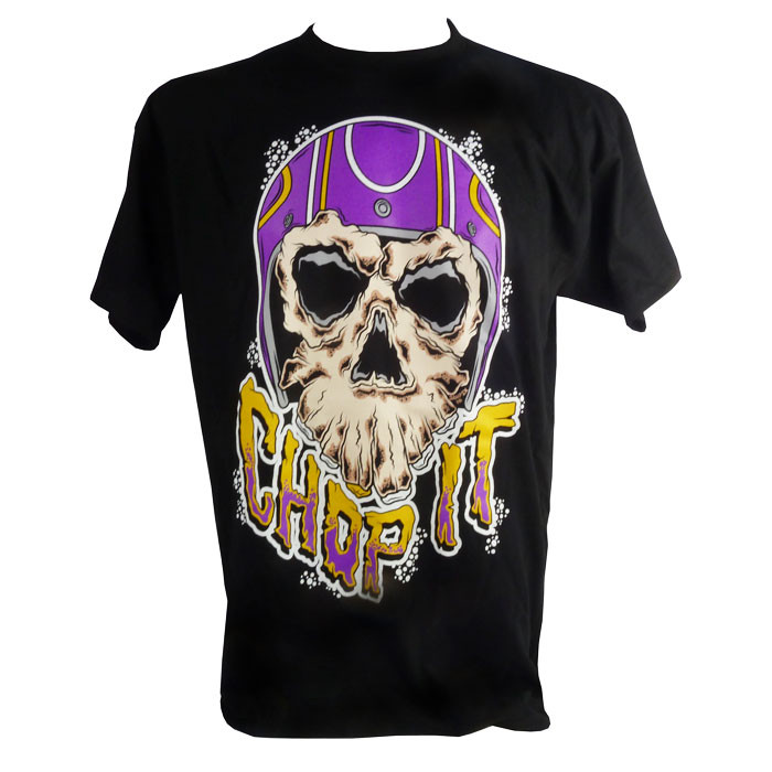 T-Shirt Chop it helmet Monster Skull XL