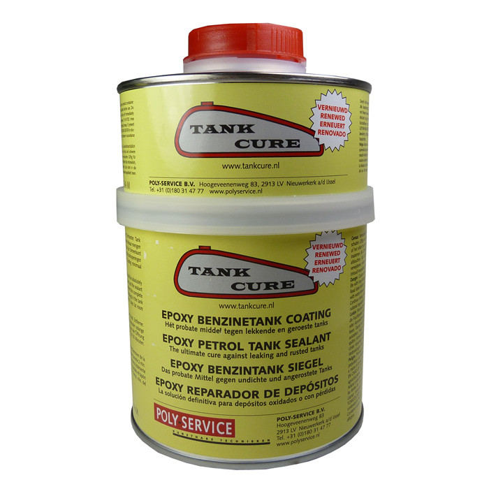 Tank Cure 450g Epoxybeschichtung zur Tanksanierung