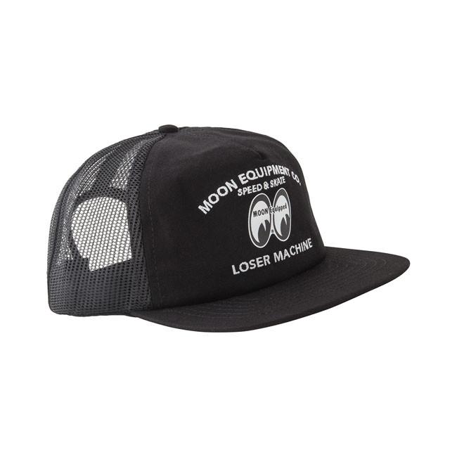 Unisize Loser Machine Mooneyes Style Cap schwarz