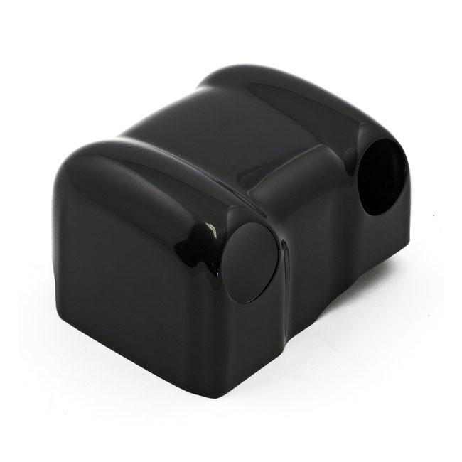 Zündspulen Cover schwarz für HD Softail