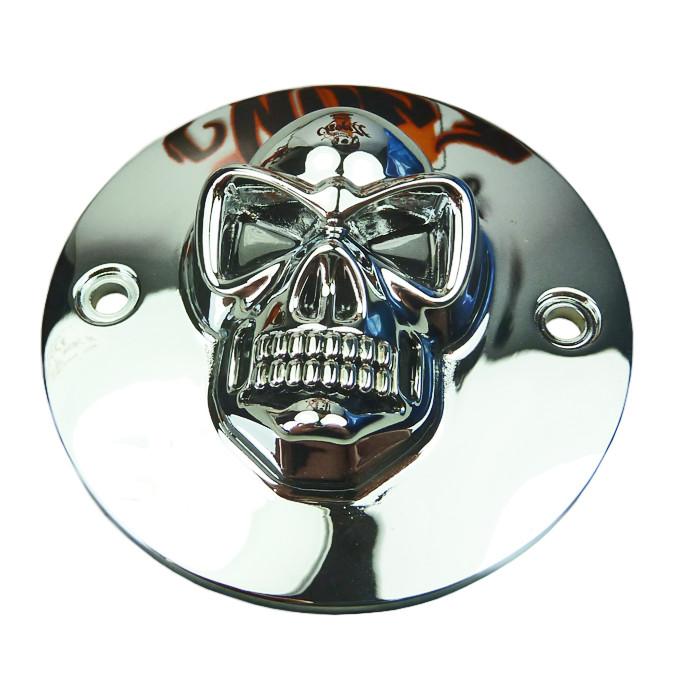 Zündungsdeckel Skull - für HD Sportster und Big Twin