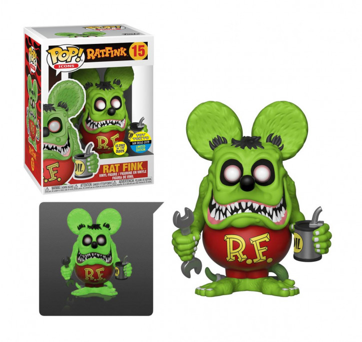 Funko PoP! Rat Fink SDCC Exclusive