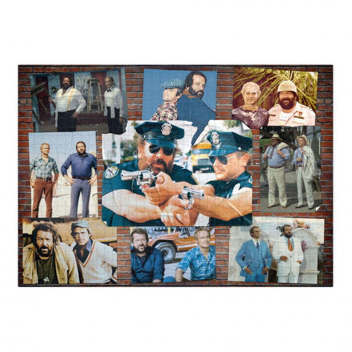 Bud Spencer & Terence Hill Puzzle Photo Wall #002
