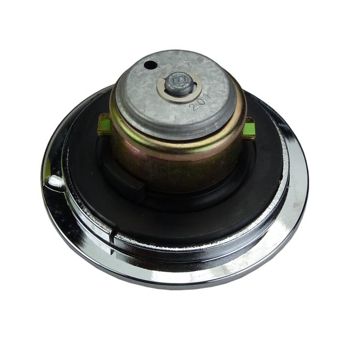 Chromed Aero Style Gas Cap vented