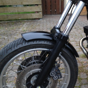 115 x 800 MM Front Fender Stahl für 18 Zoll Reifen