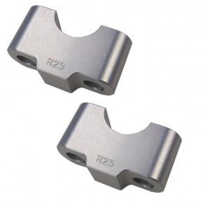 Distanzsatz für 22 mm Lenker Erhöhung 25 mm