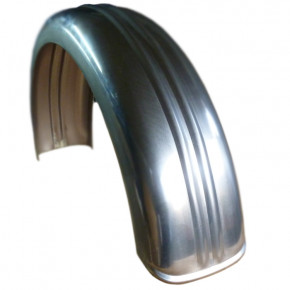 155 MM x 660 MM double ribbed Stahl Fender D Profil