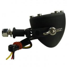Schwarzes LED Motorrad Rücklicht Chopper Kulture