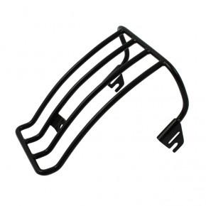 Motorrad Gepäckträger schwarz für HD FXST FLST
