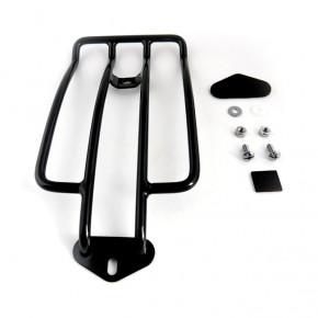 Motorrad Gepäckträger schwarz 35 cm für Dyna FXDWG