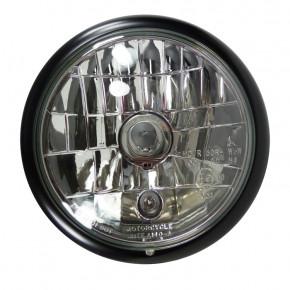 """Scheinwerfer 5 3/4"""" grooved Style Klarglas"""