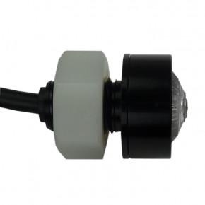 Mini Highsider LED Rücklicht rund schwarz