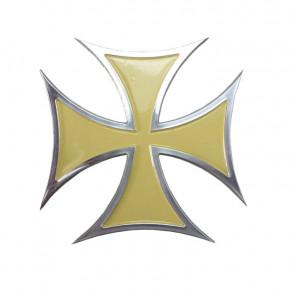 Emblem Iron Cross Aluminium - sand