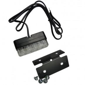 Mini Kennzeichenleuchte LED schwarz