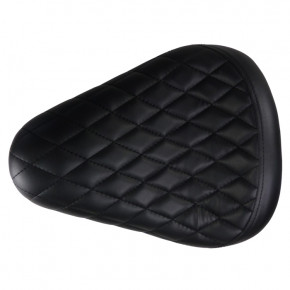 Biltwell flacher Solositz mit Diamond Style Muster