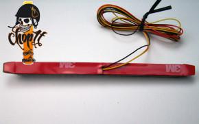 LED Rücklicht Stripe - smoked