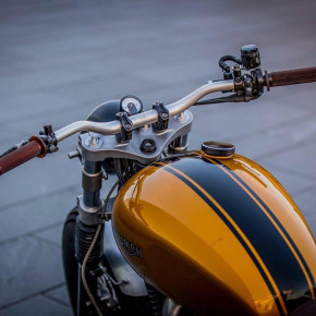 Aluminium Lenkerklemme für Triumph Modelle
