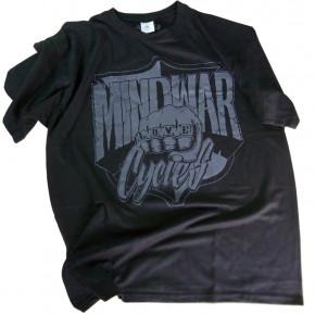 T-Shirt schwarz Mindwar Cycles Größe L
