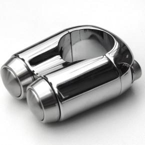 Chrom Aluminium Lenkertaster für Zoll Lenker