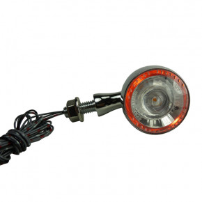 Paar Chrom LED Blinker Rücklicht Einheit 1000DF