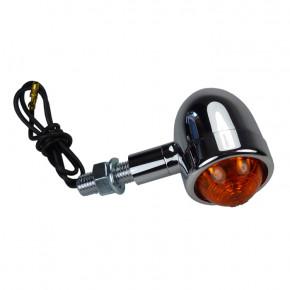 Verchromte Aluminium Halogen Motorrad Blinker