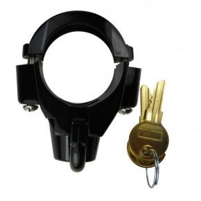 Helmschloss Halterung schwarz