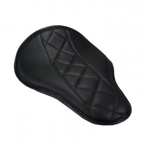 Super flacher Eco Line Solositz schwarz mittig diamond Style