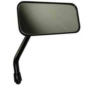 Schwarzer Motorrad Custom Spiegel rechteckig für rechts