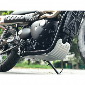 Aluminium Motorschutzblech für Triumph