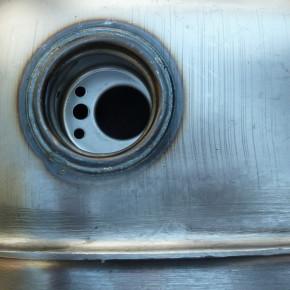 Ribbed Benzintank 3,3 Gal mit Tankanzeige