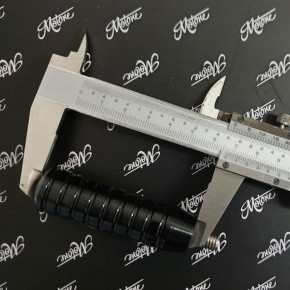 Langes Ribbed Schaltpedal schwarz für Triumph Modelle