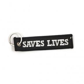 Schlüsselanhänger loud pipes save lives