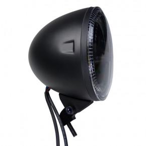 Schwarzer LED Hauptscheinwerfer mit unterer Befestigung