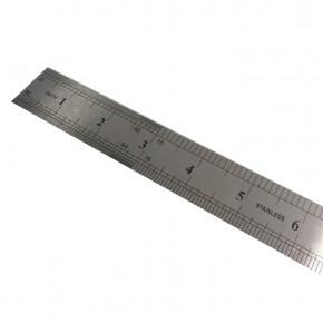 Metall Lineal 50 cm Metrisch und Zoll