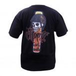 T-Shirt - schwarz mit Chop it Logo - Größe M