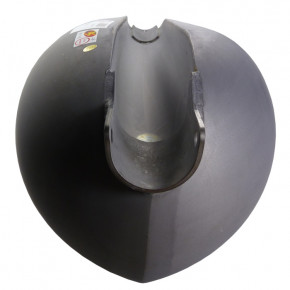 11,7 L Torpedo Style Benzintank mit flachem Tunnel
