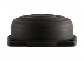 Ein Paar Wave Deckel schwarz für Triumph Keihin Vergaser