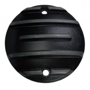 Zündungsdeckel schwarz gerippt für HD XL 71 bis 03