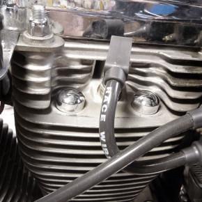 Zylinderkopf Schrauben Cover chrom für HD Modelle